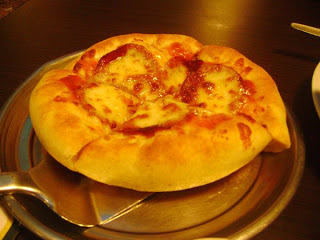 1 Double Pepperoni Cheese Crust Pizza (small)