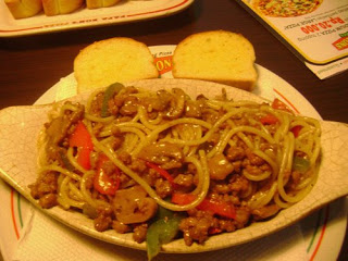 1 Spaghetti BlackPepper Beef (Large)