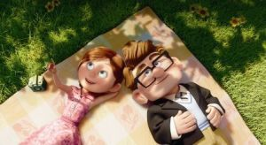 """UP""(L-R) Ellie, Carl ©Disney/Pixar.  All Rights Reserved."