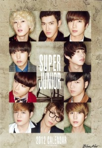 super junior 2012 calender